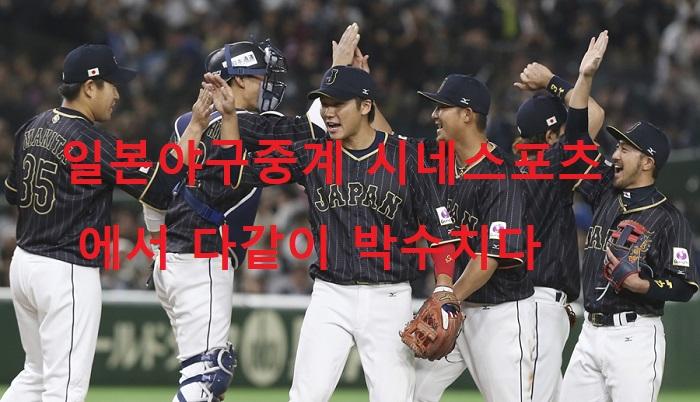 일본야구중계 시네스포츠